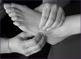 The Ashworth Practice - Reflexology. Foot Stimulation, Reflex Zones, Manipulation, Massage. Bromley Park Medical Centre, Bromley, Kent BR1 2JQ